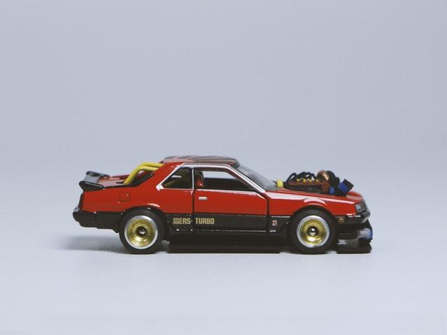 Gammal rallybil